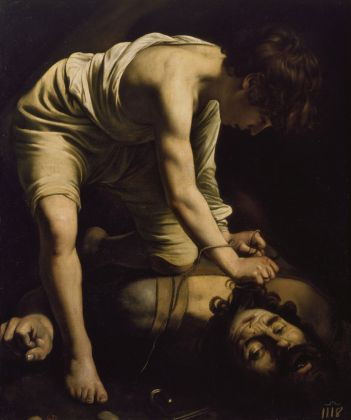 Caravaggio, Davide e Golia, Museo del Prado