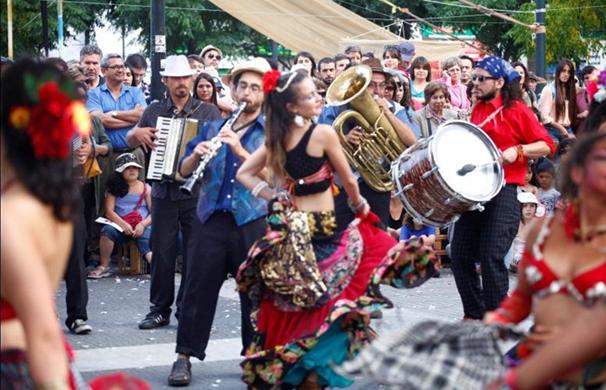 Festival di arte e musica Rom