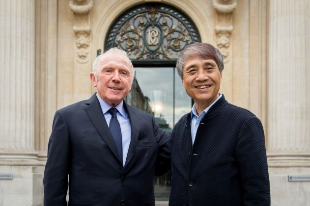François Pinault e Tadao Ando