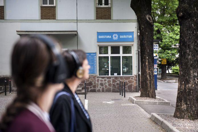 Un'audioguida permanente per la città di Bolzano. Photo Ivo Corrà