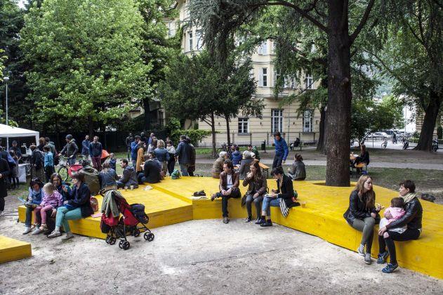 Un'audioguida permanente per la città di Bolzano. Ph. Ivo Corrà