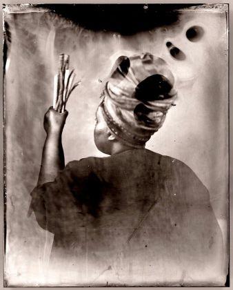 Dwelling: in this space we breathe, una delle opere di Khadija Saye per il Diaspora Pavilion
