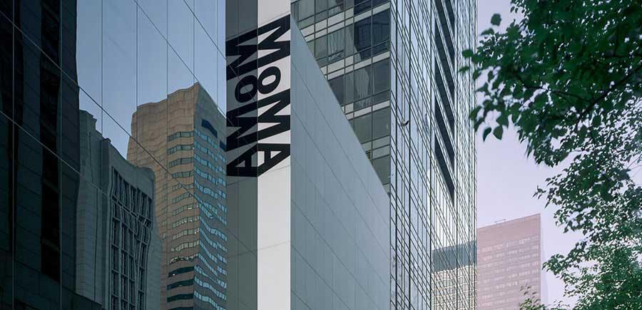 La facciata del MoMA di New York