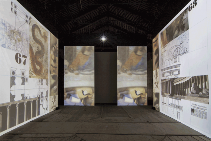 Peter Greenaway, Tribute to Italy, Biennale di Venezia 2015