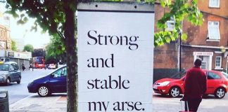 Strong and Stable my Arse, l'intervento di Jeremy Deller