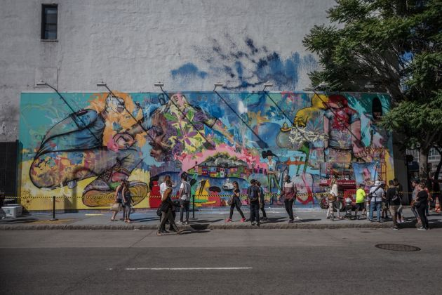 Il Bowery Wall a New York