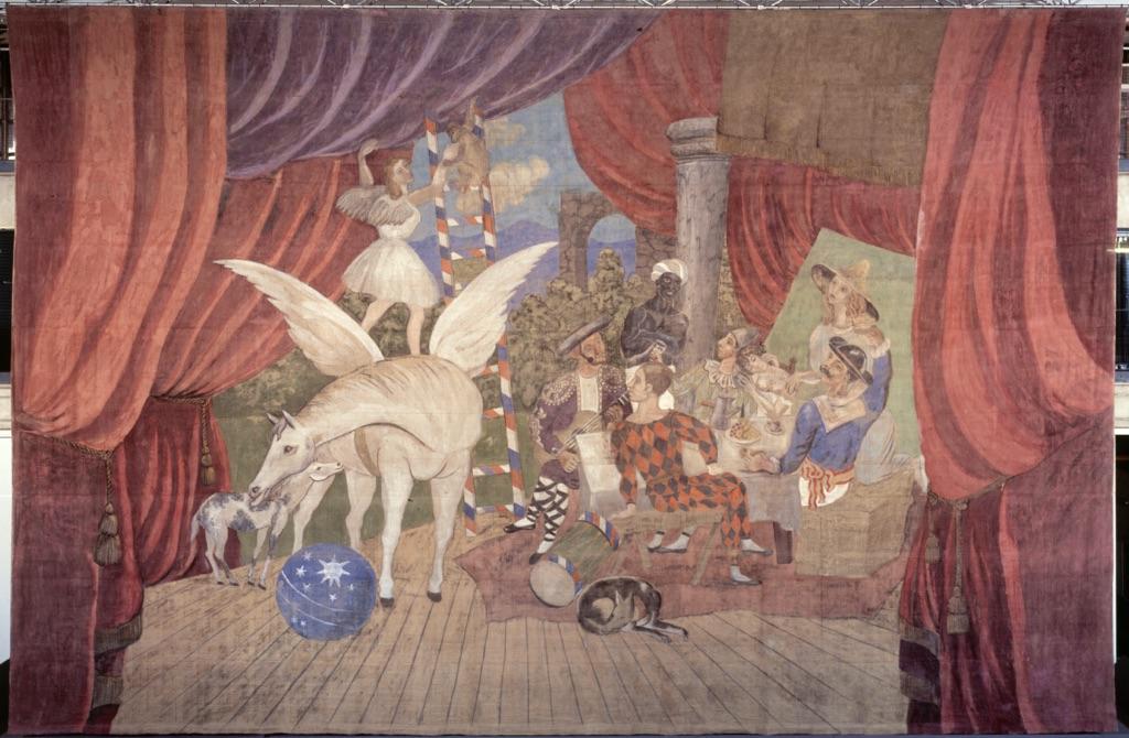 Pablo Picasso, Sipario per il balletto