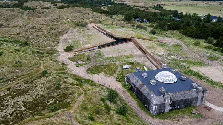 Tirpitz Museum: Tirpitz vej 1, Blåvand, Jutland occidentale, Danimarca