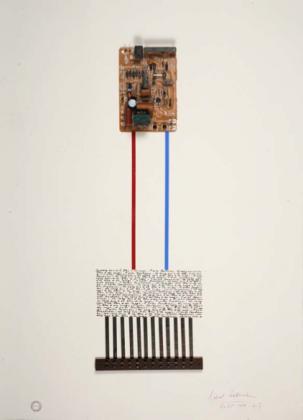 B. Heidsieck, Circuits intêgres, 1989, credits Fondazione Bonotto
