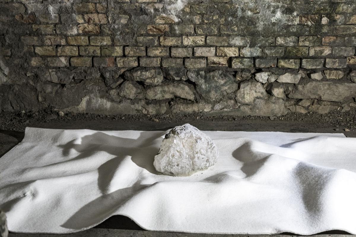 Fuocoapaesaggio, Forte di Monte Ricco, Giulia Pellegrini. Foto di Nicola Noro