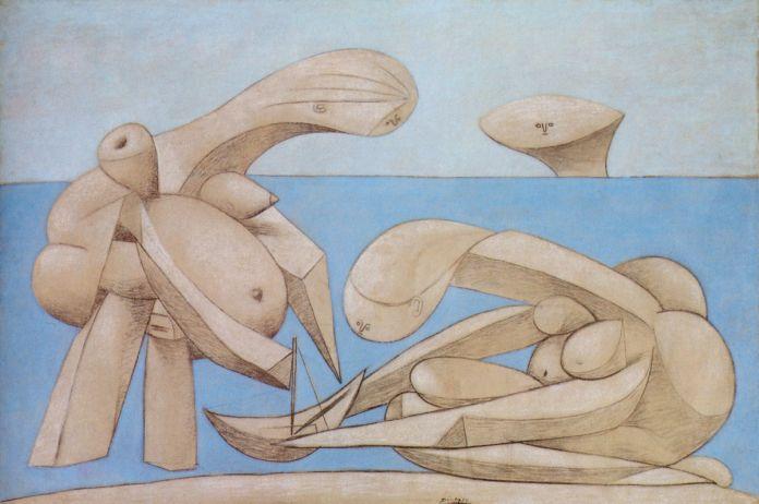 Pablo Picasso, Bagnanti, 1927