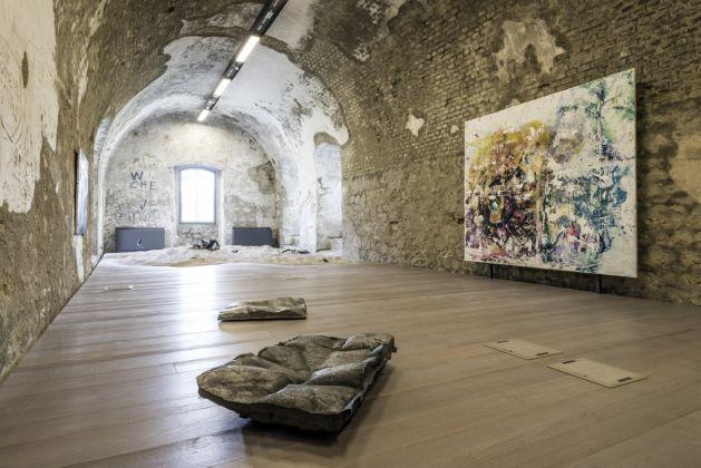 Fuocoapaesaggio, Forte di Monte Ricco, installation view. Foto di Giacomo De Donà
