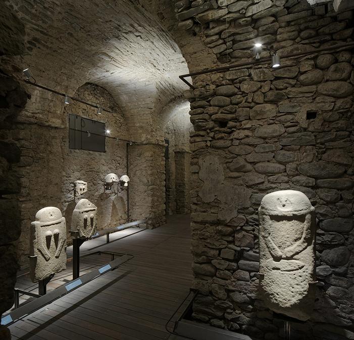Museo delle Statue Stele Lunigianesi CATEGORIA OPERA DI ALLESTIMENTO O INTERNI