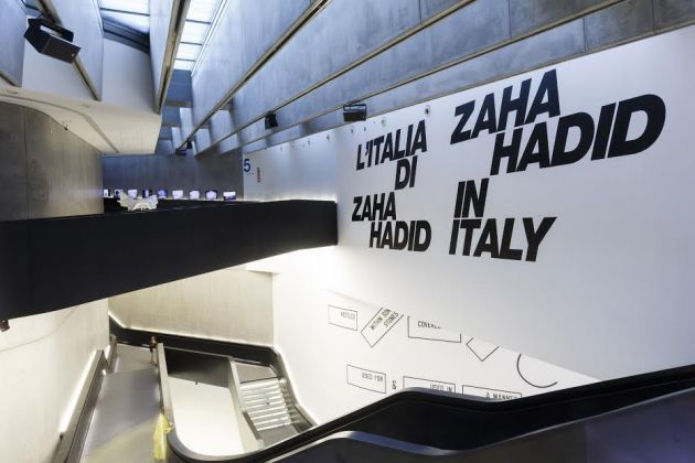 L'Italia di Zaha Hadid, exhibition view at MAXXI, Roma, photo Musacchio Ianniello, Courtesy Fondazione MAXXI