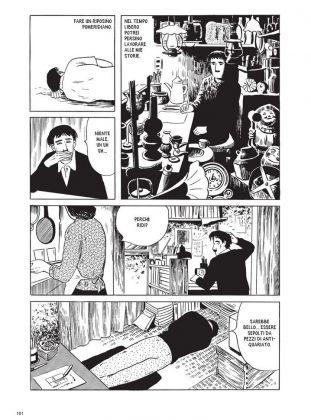Yoshiharu Tsuge, L'uomo senza talento, Canicola Edizioni, 2017