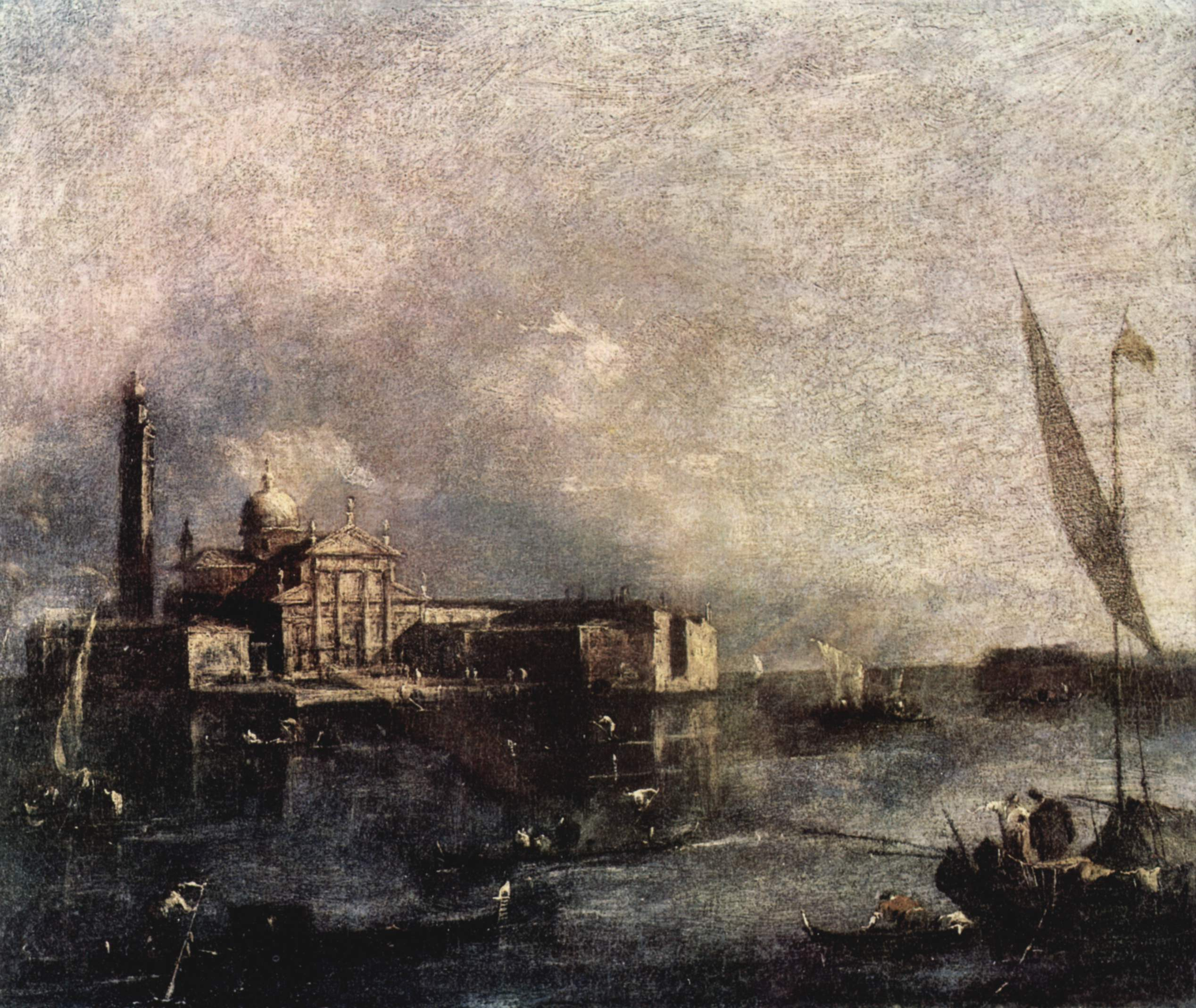 Francesco Guardi, L'isola di San Giorgio