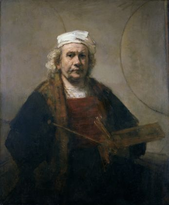 Rembrandt van Rijn Self-Portrait with Two Circles c. 1665-69 Oil on canvas 114.3 cm × 94 cm Courtesy Kenwood House, Iveagh Bequest/English Heritage