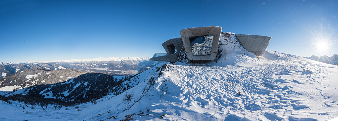 Zaha Hadid, Messner Mountain Museum (Museo della montagna Messner), Plan de Corones 2015, photo Harald Wisthaler Courtesy Zaha Hadid Architects