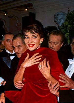 Gala de la légion d'honneur Paris 1958 © Fonds de Dotation Maria Callas