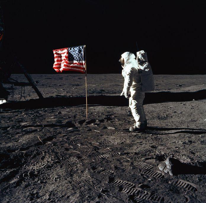Apollo 11, l'uomo sulla Luna, immagine di repertorio