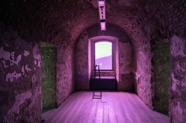 Fuocoapaesaggio, Forte di Monte Ricco, Irene Coppola. Foto di Giacomo De Donà
