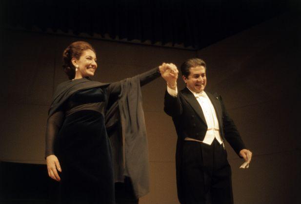 Tournée dadieux avec Di Stefano 1973 © Fonds de Dotation Maria Callas