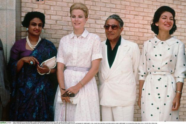 Grace Kelly, Onassis, Callas. Fonds de Dotation Maria Callas