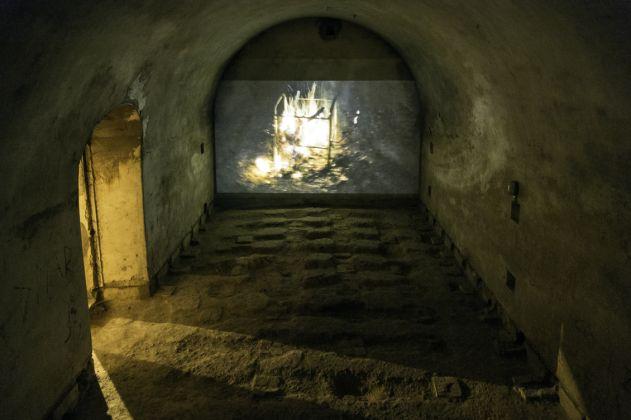 Fuocoapaesaggio, Forte di Monte Ricco, Sandra Hauser. Foto di Giacomo De Donà