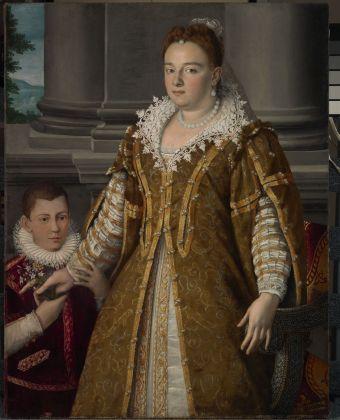 Alessandro Allori, Bianca Cappello con il figlio Antonio, post 1582 – ante 1587. Dallas, The Dallas Museum of Art