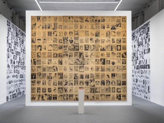 Alighiero Boetti: Minimum/Maximum, installation view at Fondazione Giorgio Cini, Venezia 2017, photo Matteo De Fina