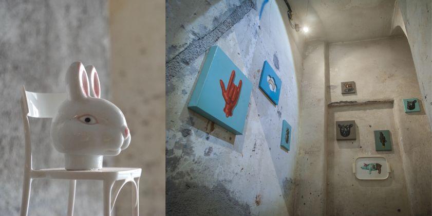Andrea Buglisi, Abrasiva, exhibition view at BoCS, Catania 2017