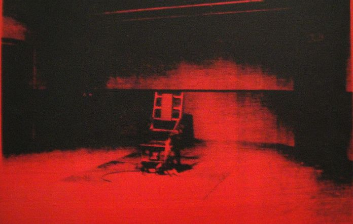 Andy - Warhol - Electric chair 1964