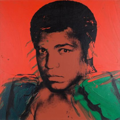 Andy Warhol, Muhammad Ali, 1978, Private Collection