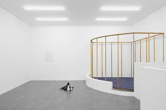 Anna-Sophie Berger, New words, 2017, installation view, at Galerie Emanuel Layr, Roma, courtesy of the artist e Galerie Emanuel Layr, Roma photo Roberto Apa
