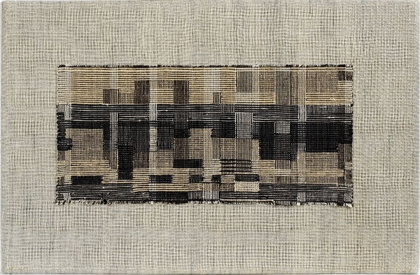 Anni Albers, City, 1949, Linen and cotton, The Josef and Anni Albers Foundation, Bethany CT, Photo Tim NighswanderImaging4Art © The Josef and Anni Albers Foundation, VEGAP, Bilbao, 2017