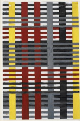 Anni Albers, Study for Unexecuted Wallhanging, 1926, The Josef and Anni Albers Foundation, Bethany CT, Photo Tim NighswanderImaging4Art © The Josef and Anni Albers Foundation, VEGAP, Bilbao, 2017