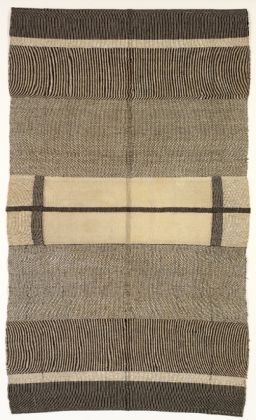 Anni Albers, Wallhanging, 1924, Cotton and silk, The Josef and Anni Albers Foundation, Bethany CT, Photo Tim NighswanderImaging4Art © The Josef and Anni Albers Foundation, VEGAP, Bilbao, 2017
