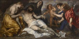 Antoon van Dyck, Compianto su Cristo morto, 1628 – 1632 circa, olio su tela collezione privata, Courtesy Robilant + Voena