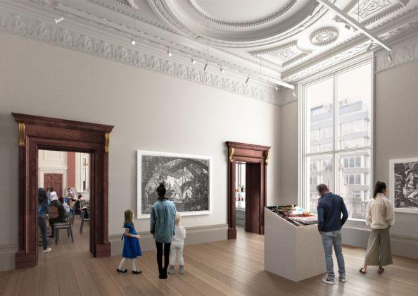 Architecture studio in 2018 © David Chipperfield Architects
