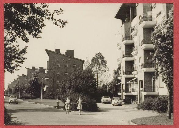 Architettura modernista a Vreeland, 1955