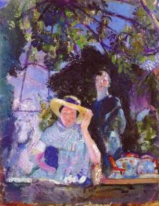 Armando Spadini, Sotto la Pergola, 1914. Roma, Galleria Comunale d'Arte Moderna