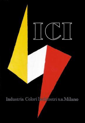 Armando Testa, ICI, 1937. Courtesy Gemma De Angelis Testa