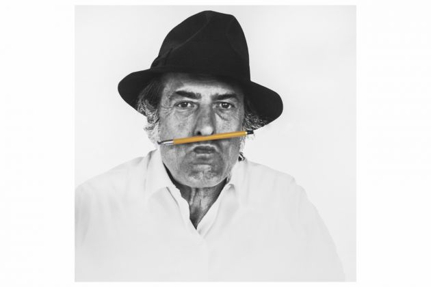 Armando Testa, foto di Gemma De Angelis Testa, 1980, Courtesy Collezione Gemma De Angelis Testa