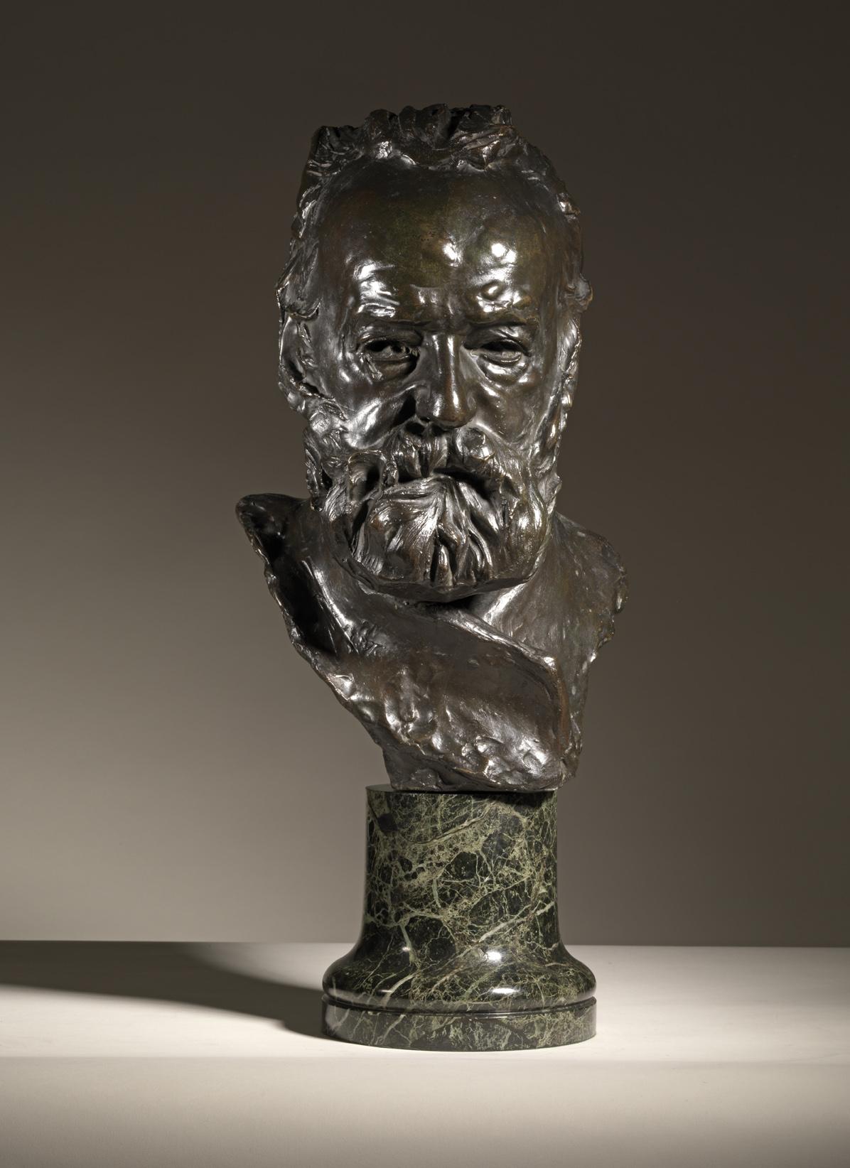 Auguste Rodin, Buste de Victor Hugo, 1885 ca.