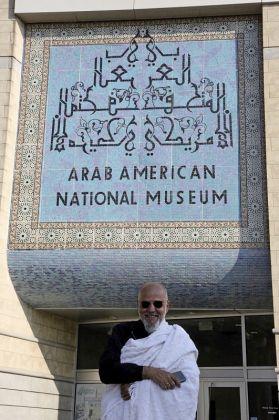 Ayman Yossri Daydban Ava Ansari Arab American National Museum via AP