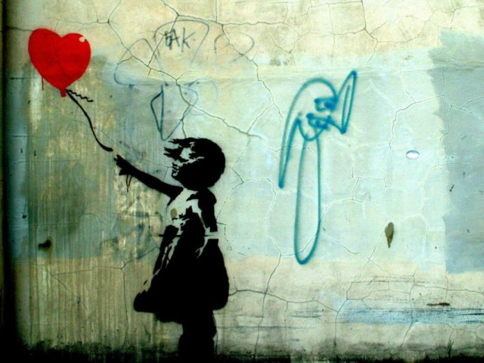 Banksy - Balloon Girl