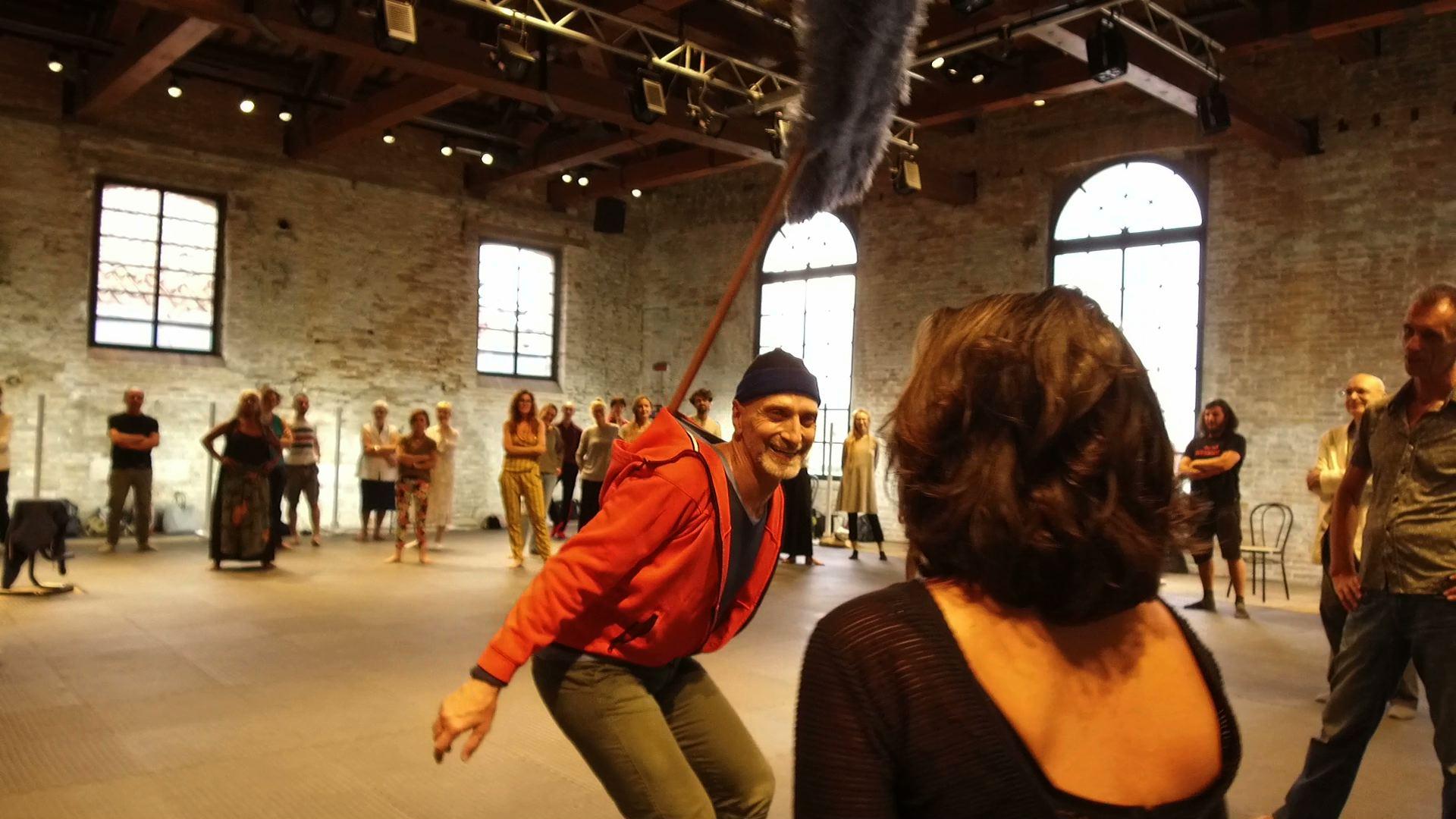 Benoît Lachambre, Lifeguard, Biennale Danza 2017, Sale d'armi dell'Arsenale, Venezia