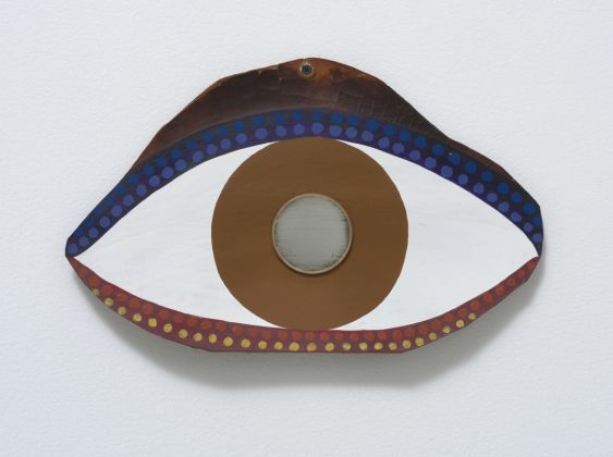 Betye Saar, Eye, 1972, Collection of Sheila Silber and David Limburger