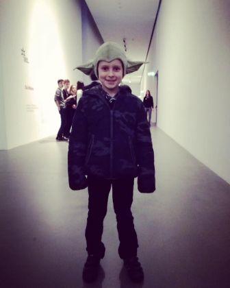 Bimbo Yoda alla Fondazione Sandretto Re Rebaudengo, Torino