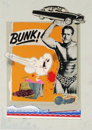 (Bunk) - Eduardo Paolozzi, Evadne in Green Dimension, 1972
